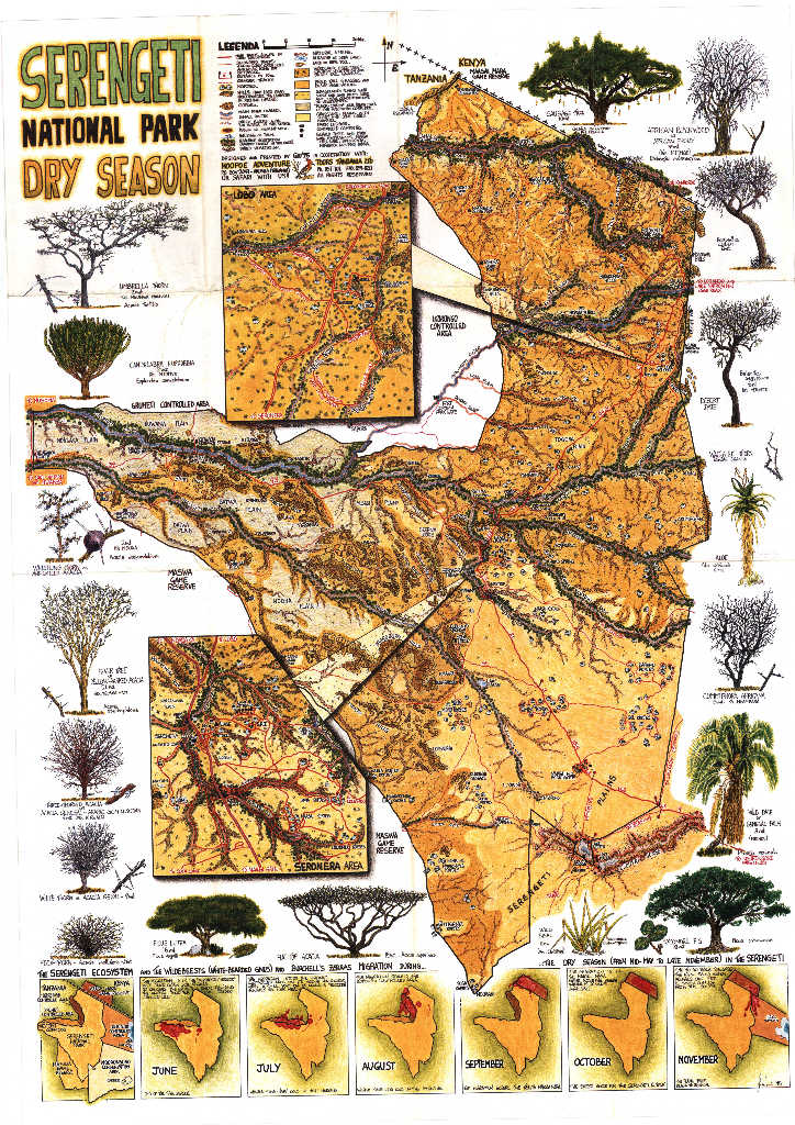 Serengeti National Park Map | Safari in Tanzania on kilimanjaro map, tarangire national park, lake tanganyika map, serengeti national park, cape of good hope map, ngorongoro crater map, kalahari map, himalayas map, sahel map, zambezi river map, congo river map, niger river map, sinai peninsula map, great victorian desert map, mount kilimanjaro, africa map, ngorongoro conservation area, mara river, horn of africa, lake nyasa map, lake victoria map, great rift valley map, victoria falls map, tanzania map, nile map, atlas mountains map,